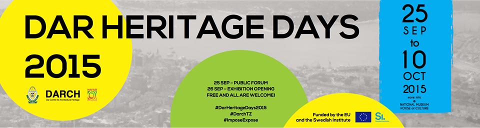 Dar Heritage Days 2015: Public Forum
