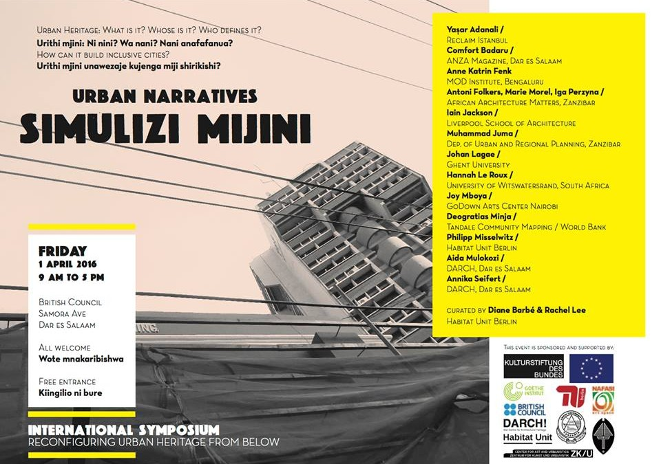 International Symposium, April 1 2016 – all speakers announced!
