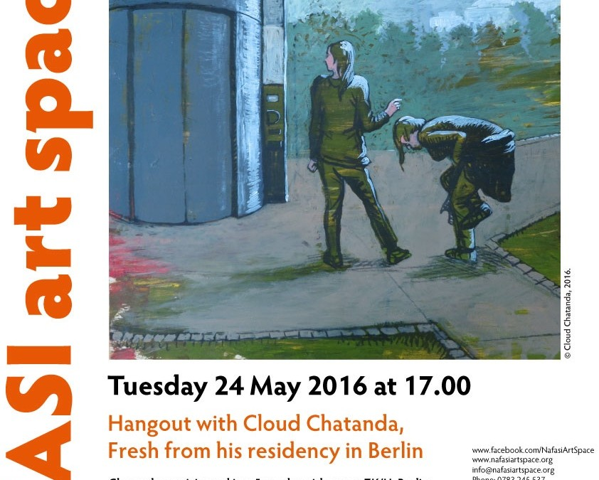 Cloud Chatanda: artists hangout at Nafasi Art Space