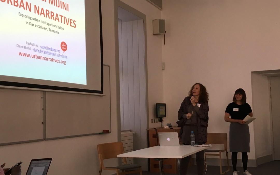 Simulizi Mijini at the Decolonizing Conference in Edinburg